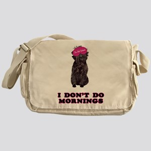 Affenpinscher Mornings Messenger Bag