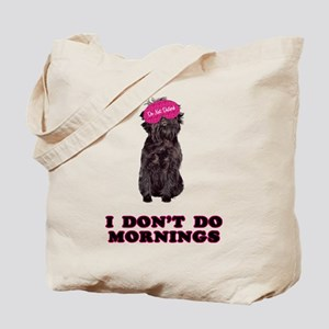 Affenpinscher Mornings Tote Bag