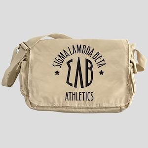 SigmaLambdaBeta Athletics Messenger Bag