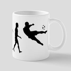 Viva La Evolucion De Futbol Mug