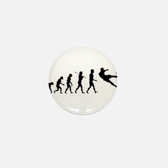 Viva La Evolucion De Futbol Mini Button