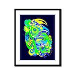 GodWeird Abstract Art Framed Panel Print