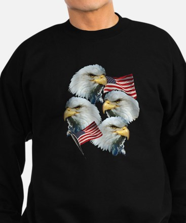 Eagles and Flags Sweatshirt (dark)