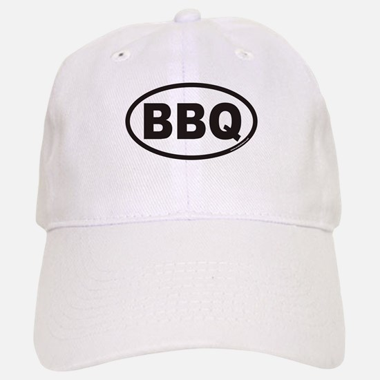 BBQ Euro Oval Baseball Baseball Cap