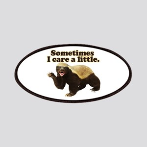 Honey Badger Sometimes I Care Patches