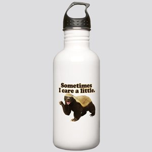 Honey Badger Sometimes I Care Stainless Water Bott