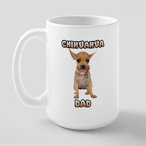 Chihuahua Dad Large Mug
