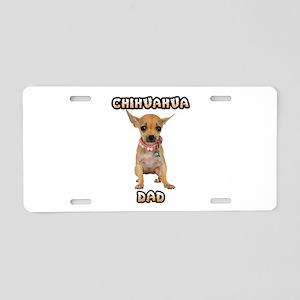Chihuahua Dad Aluminum License Plate