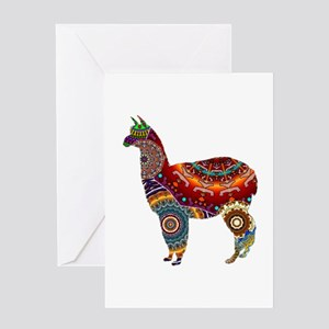 THE LLAMA WAY Greeting Cards