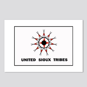 United Sioux Tribes Flag Postcards (Package of 8)