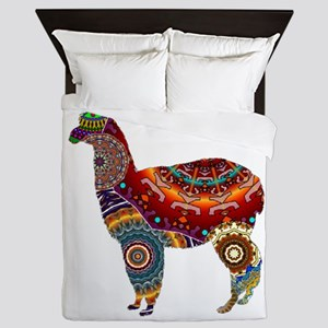 THE LLAMA WAY Queen Duvet