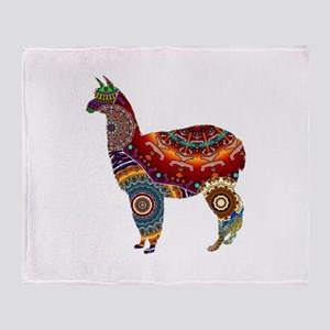 THE LLAMA WAY Throw Blanket