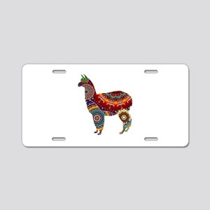 THE LLAMA WAY Aluminum License Plate