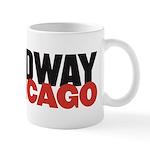 Broadway In Chicago Mugs