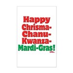Happy HCCKMG! Mini Poster Print