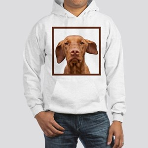 Staring Vizsla Hooded Sweatshirt