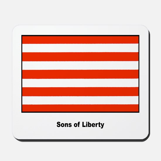 Sons of Liberty Freedom Flag Mousepad