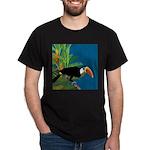Toucan Jungle Black T-Shirt
