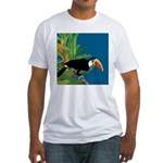 Toucan Jungle Fitted T-Shirt