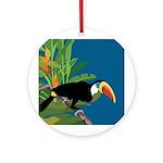 Toucan Jungle Ornament (Round)