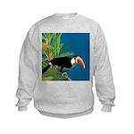 Toucan Jungle Kids Sweatshirt