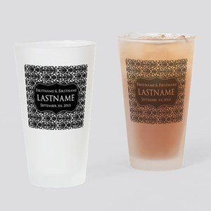 Wedding Favors with a Pattern Drinking Glass