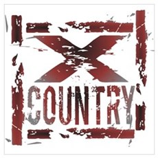 Cross Country Poster And Wall Art Poster