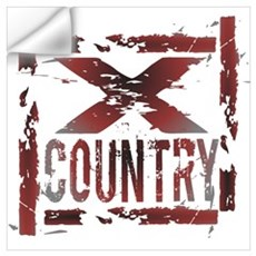 Cross Country Poster And Wall Art Wall Decal