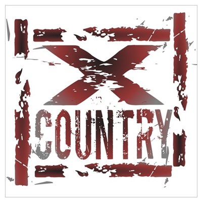 Cross Country Poster And Wall Art Canvas Art