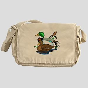 Mallard Ducks Messenger Bag