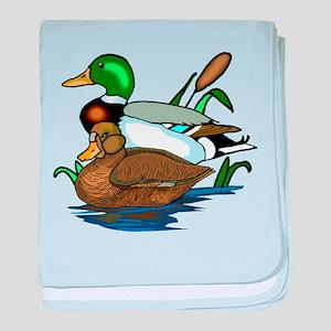 Mallard Ducks baby blanket