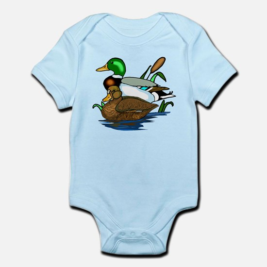 Mallard Ducks Infant Bodysuit