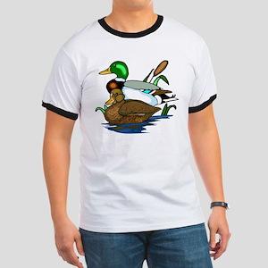 Mallard Ducks Ringer T