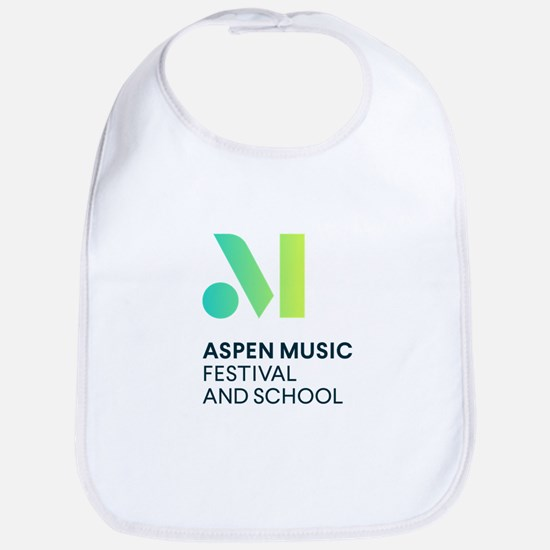 Aspen Music Festival and School Logo Baby Bib