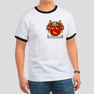 McGill Coat of Arms Ringer T