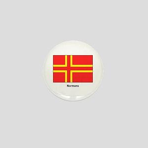 Norman Ancestry Flag Mini Button