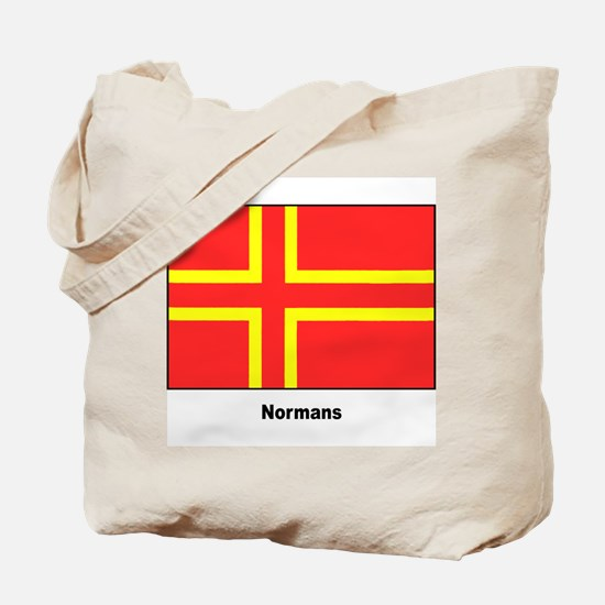 Norman Ancestry Flag Tote Bag