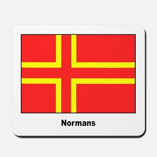 Norman Ancestry Flag Mousepad