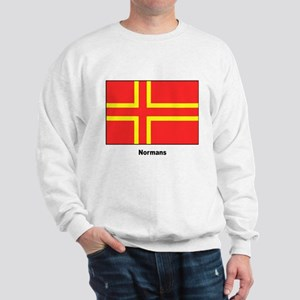 Norman Ancestry Flag (Front) Sweatshirt