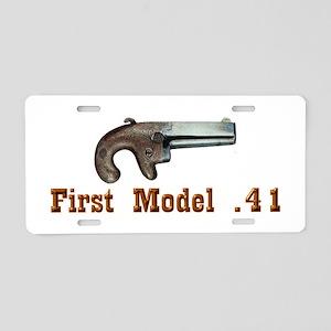 Colt First Model Derringer Aluminum License Plate