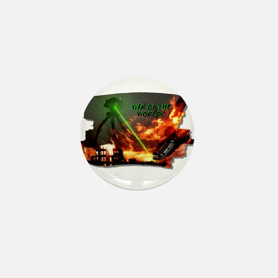 war of the worlds Mini Button