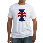 412th Engineer Bde Fitted T-Shirt