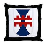 412th Engineer Bde Throw Pillow