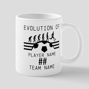 Customizable Soccer Mug
