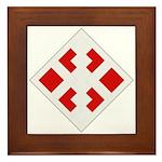 411th Engineer Bde Framed Tile