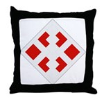 411th Engineer Bde Throw Pillow