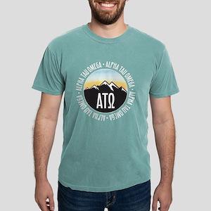 Alpha Tau Omega Mounta Mens Comfort Color T-Shirts