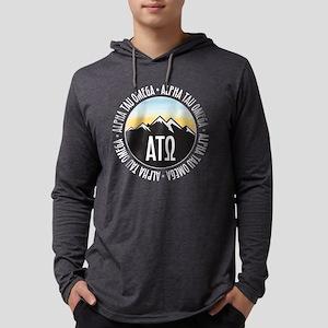 Alpha Tau Omega Mountain Suns Mens Hooded T-Shirts