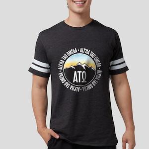 Alpha Tau Omega Mountain Su Mens Football T-Shirts