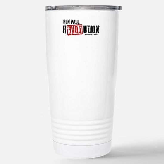 Ron Paul Revolution Stainless Steel Travel Mug